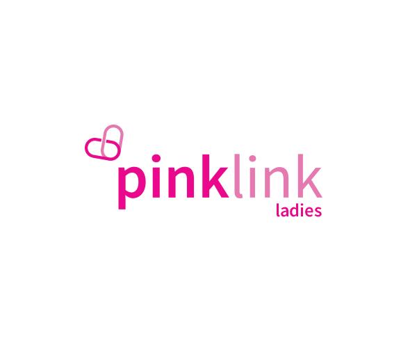 Pink Link Ladies Logo Concept